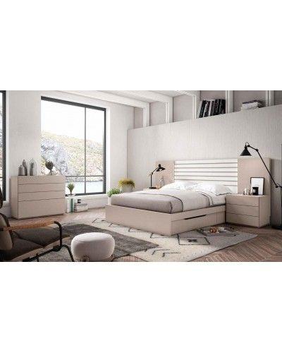 Dormitorio matrimonio moderno beladur 270-BH25