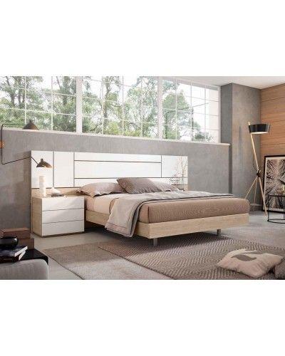 Dormitorio matrimonio moderno beladur 270-BH26