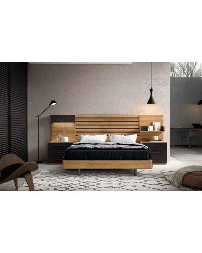Dormitorio matrimonio moderno beladur 270-BH27