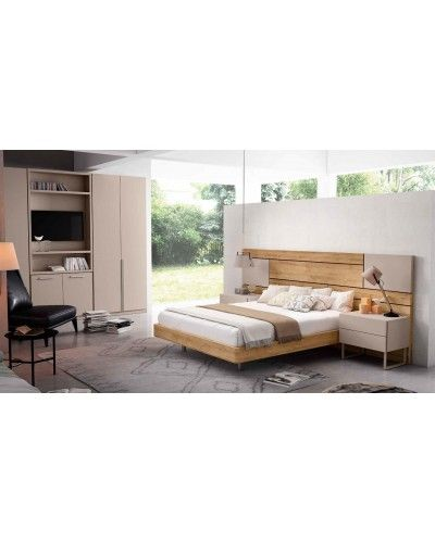 Dormitorio matrimonio moderno beladur 270-BH31