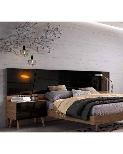Dormitorio matrimonio moderno beladur 270-BH35