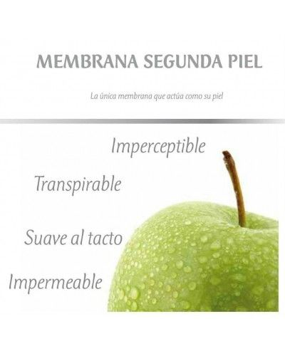 Sabana bajera SMARTCEL TENCEL impermeable transpirable 1213-14 Granate