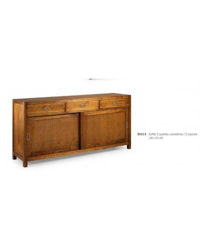 Aparador colonial clásico vintage 99-30313