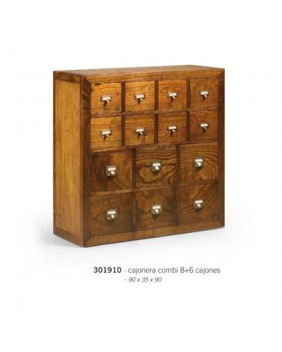 Cajonera colonial madera 99-301910