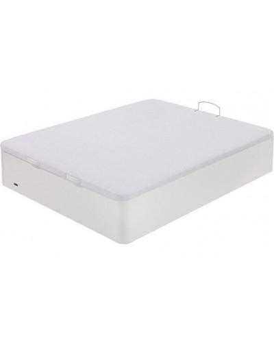 Canapé abatible madera FLEX 25 Blanco - Tapa 3D