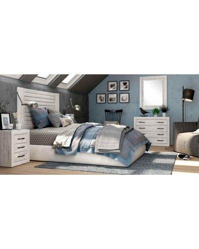 Dormitorio matrimonio vintage colonial 60-jo207