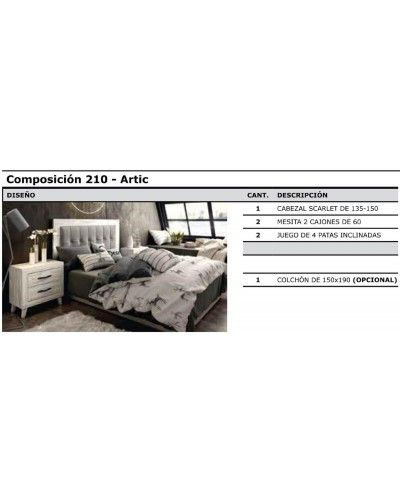 Dormitorio matrimonio vintage colonial 60-jo210