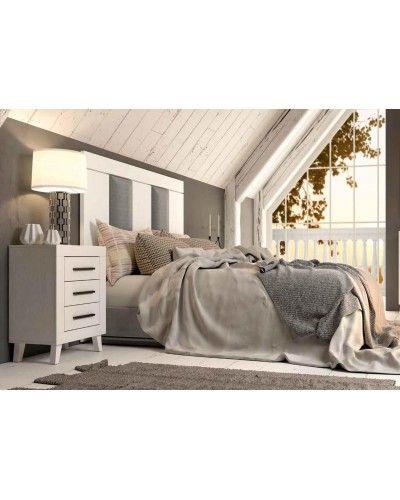 Dormitorio matrimonio vintage colonial 60-jo212