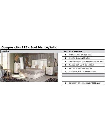 Dormitorio matrimonio vintage colonial 60-jo213