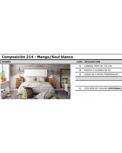 Dormitorio matrimonio vintage colonial 60-jo214
