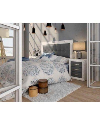 Dormitorio matrimonio vintage colonial 60-jo224