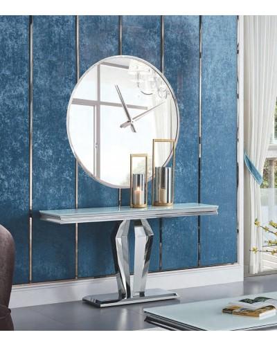 Recibidor moderno acero cristal vintage 1362-966