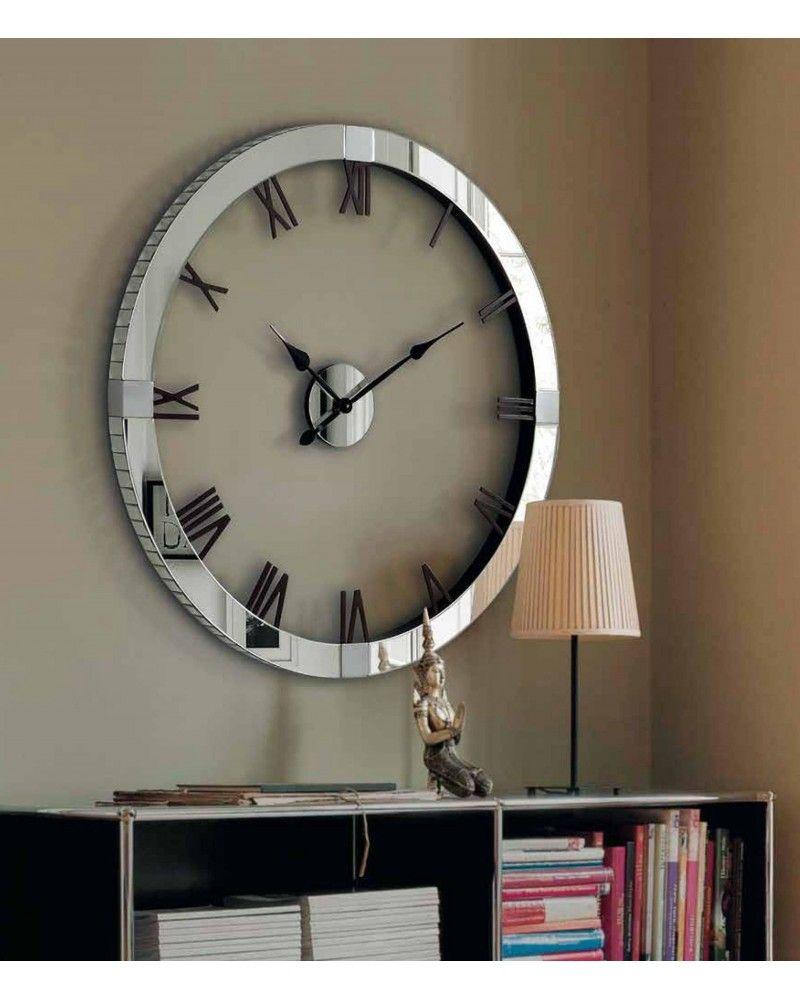Reloj Espejo Cristal Pared 5955 1362 Redondo zMGSqpUV