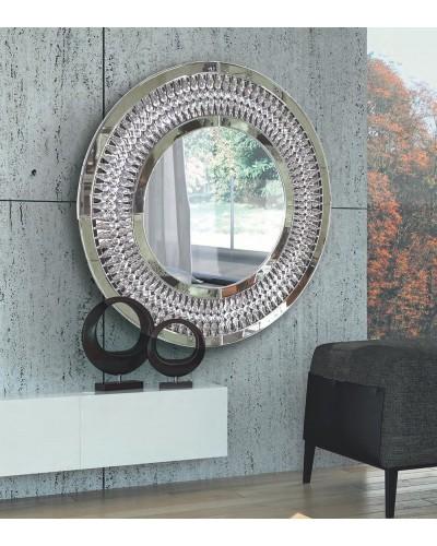Espejo decorativo redondo diseño 1362-3026