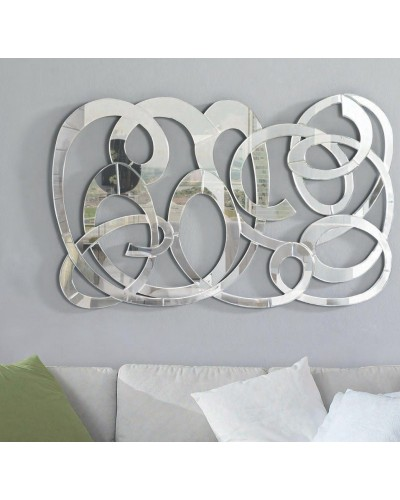 Espejo decorativo ovalado diseño 1362-9207