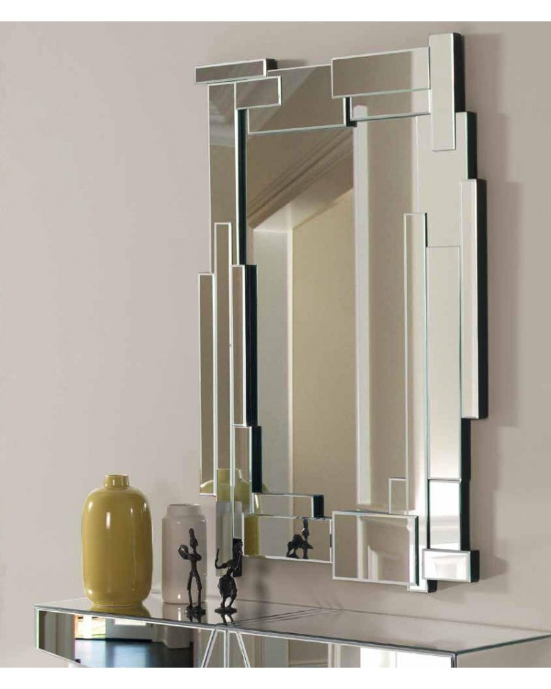 Espejo decorativo rectangular diseño 1362-5968