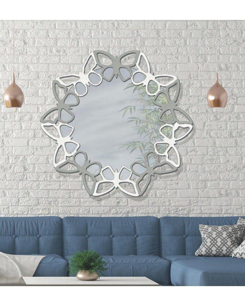Espejo decorativo ovalado diseño 1362-971