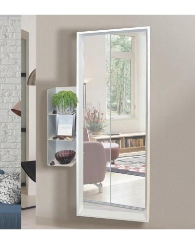 Espejo decorativo rectangular diseño 1362-BUBOLA