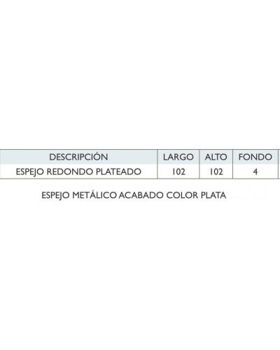 Espejo decorativo Redondo diseño 1362-180834