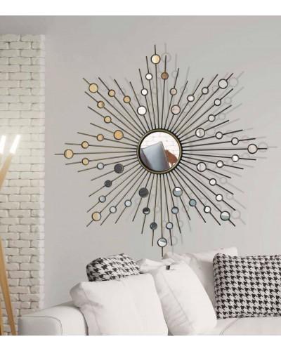 Espejo clasico decorativo redondo diseño 1362-1291