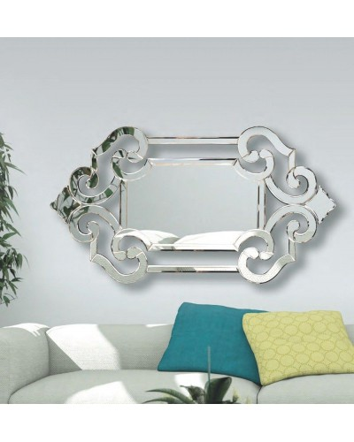 Espejo veneciano decorativo diseño 1362-009