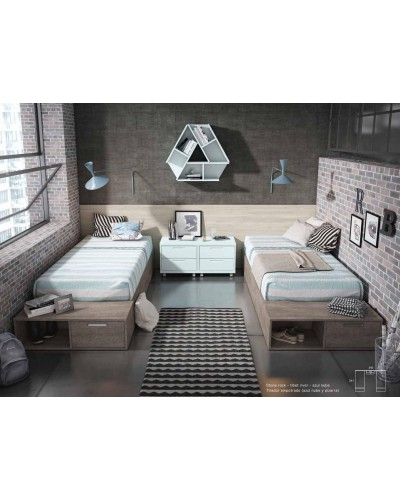Dormitorio juvenil infantil moderno 224-319