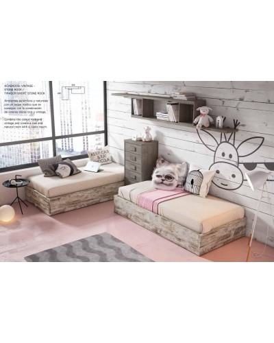 Dormitorio juvenil infantil moderno 224-320