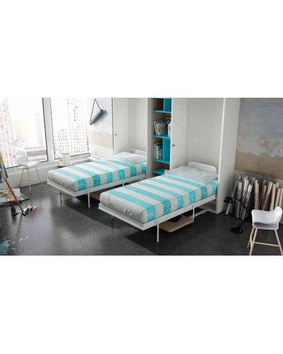 Cama abatible dormitorio juvenil infantil 224-406