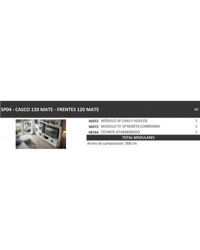 Mueble comedor moderno diseño lacado 397-SP04