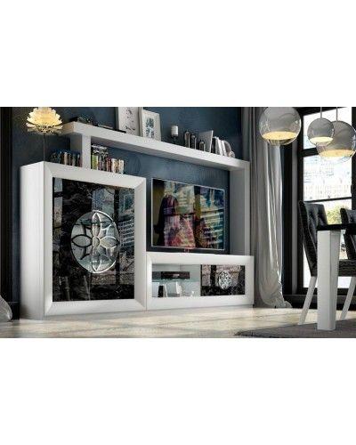 Mueble comedor moderno diseño lacado 397-SP06
