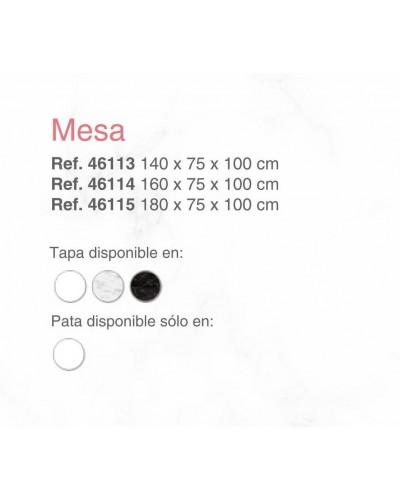 Mesa comedor moderna fija lacado 397-SP18