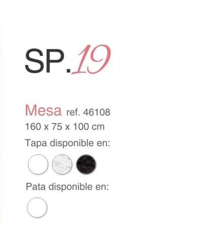 Mesa comedor moderna fija lacado 397-SP19