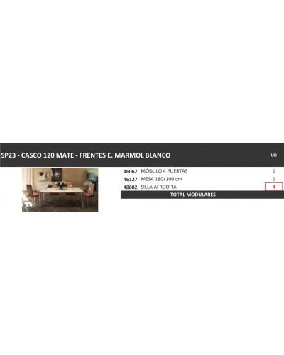 Mesa comedor moderna fija lacado 397-SP23