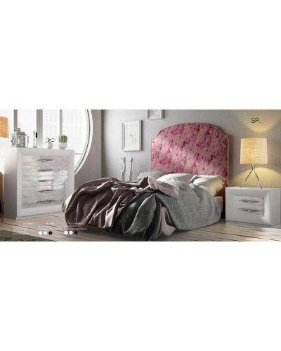 Dormitorio matrimonio moderno lacado diseño 397-SP30