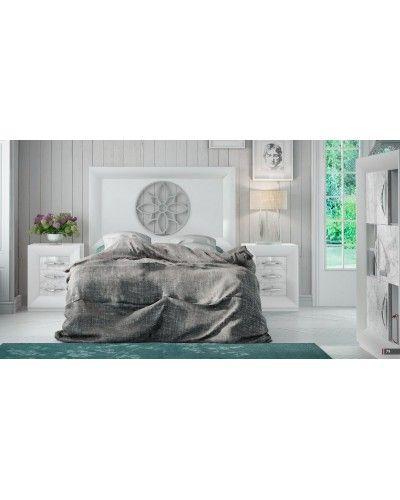 Dormitorio matrimonio moderno lacado diseño 397-SP31