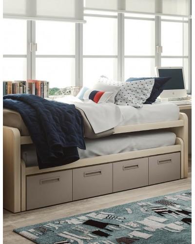Compacto dormitorio juvenil infantil  moderno 1194-M01