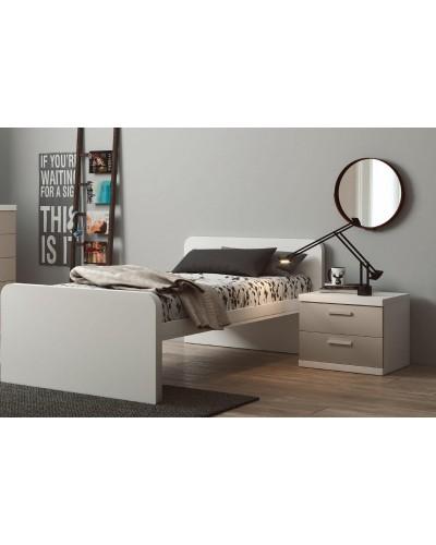 Cama nido dormitorio juvenil infantil  moderno 1194-M06