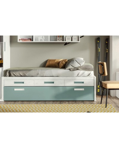 Compacto dormitorio juvenil infantil  moderno 1194-M08
