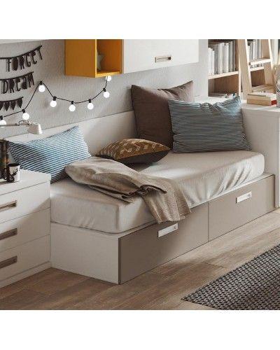 Cama nido dormitorio juvenil infantil  moderno 1194-M13