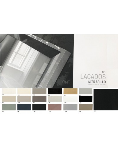 Recibidor moderno lacado alta calidad 397-AZ05