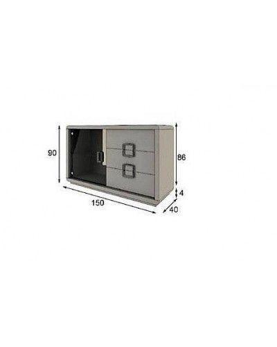Aparador moderno diseño lacado alta calidad 397-AZ28