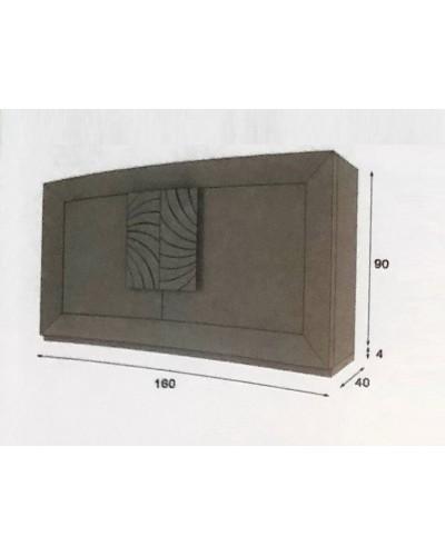 Aparador moderno diseño lacado alta calidad 397-AZ04
