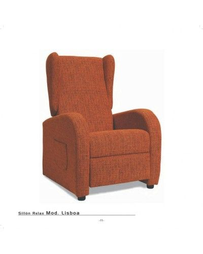 Sillon relax tapizado 46-lisboa|Mobles Sedavi