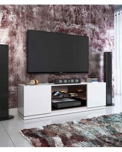 Mueble TV moderno diseño lacado alta calidad 397-AZTV01