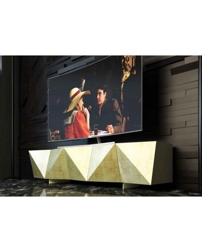 Mueble TV moderno diseño lacado alta calidad 397-AZTV02