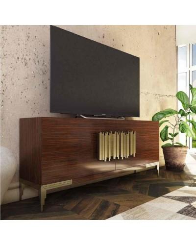 Mueble TV moderno diseño lacado alta calidad 397-AZTV05