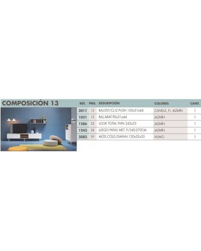 Mueble comedor moderno diseño 270-i13