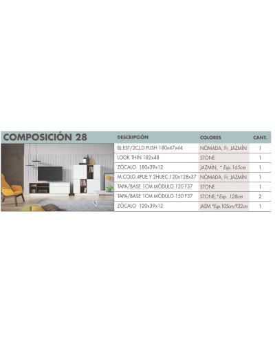 Mueble comedor moderno diseño 270-i28