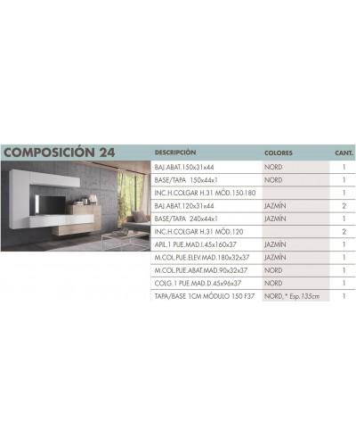 Mueble comedor moderno diseño 270-i24