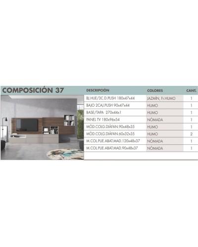 Mueble comedor moderno diseño 270-i37